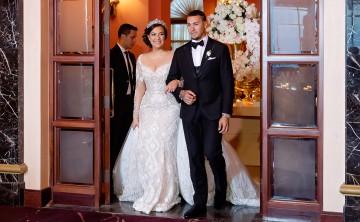 Irmarie Márquez y el pelotero Javier Báez hicieron realidad el deseo de una boda inolvidable