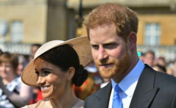 Los duques de Sussex acuden a su primer acto oficial como esposos