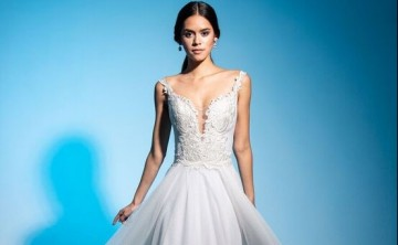 Selecciona el traje de novia de acuerdo con tu silueta