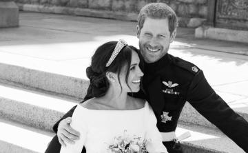 Fotógrafo de la boda real revela cómo obtuvo el relajado retrato de Meghan y Harry