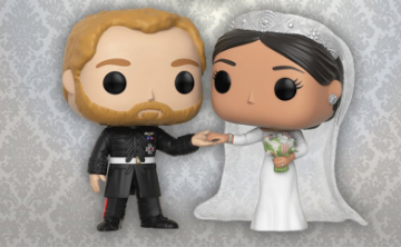 Harry y Meghan tendrán su Funko Pop!