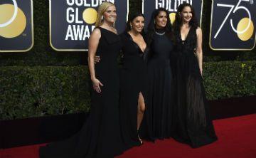 El color negro brilla en los Golden Globe Award