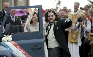 "Actores de ""Game of Thrones"" se casan en un castillo"