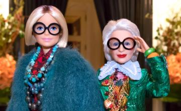 Barbie crea modelo inspirado en Iris Apfel