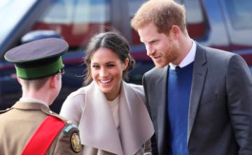 El príncipe Harry y Meghan Markle visitan Irlanda del Norte