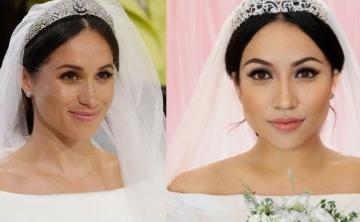 Una bloguera recrea el maquillaje de la boda de Meghan Markle