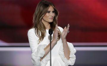 Ausente Melania Trump en la selección del listado de las mejor vestidas