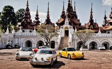 Descubre el nirvana de la conducción entre templos, follaje y comida deliciosa en Tailandia