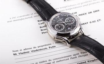 Venden en $1 millón exclusivo reloj de presidente ruso