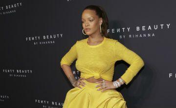 Rihanna presentó anoche su línea de maquillaje Fenty Beauty