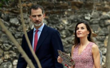 Los reyes de España visitan San Antonio, Texas