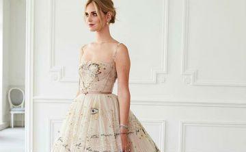 Deslumbrante Chiara Ferragni con su vestido de desposada