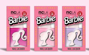 Nueva colección de cosméticos de Barbie