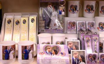Ya están a la venta los souvenirs de la próxima boda real de Inglaterra