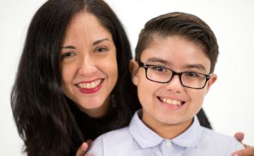 Las lecciones que Sylma Pérez imparte a su hijo