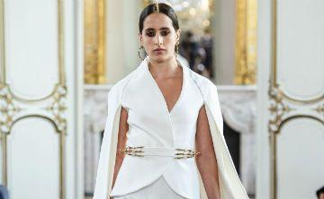 Taleedah Tamer, la primera modelo saudí en llegar a una semana de la moda