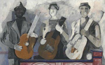 """Músicos"" de Tamayo encabeza subasta de Christie's"