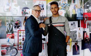 Tommy Hilfiger y Lewis Hamilton se unen por la moda