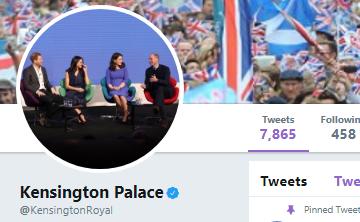 Palacio de Kensington cambia su foto de perfil en redes sociales