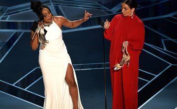 Tiffany Haddish rompe los esquemas con un vestido usado en los Oscar