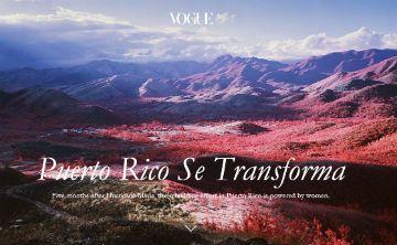 La revista Vogue destaca la labor de mujeres después de María