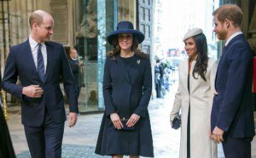 Meghan Markle y Kate  Middleton llegan a evento con el mismo estilo de zapatos
