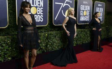 Se viste de negro la alfombra roja de los Golden Globe