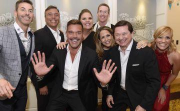 Ricky Martin celebra la primera gala de su Fundación por la erradicación de la trata humana