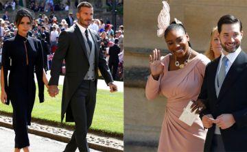 Sombreros, fascinators y mucho color entre los invitados a la boda real