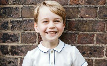 El príncipe George cumplió 5 años y el Kensington Palace lo celebró con una fotografía