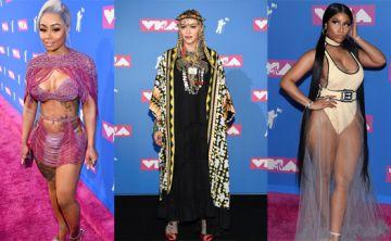 Así lucieron los artistas en la alfombra roja de los MTV Video Music Awards