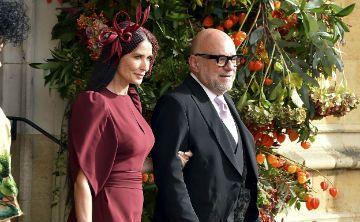 Desfile de artistas en la boda real de la princesa Eugenie