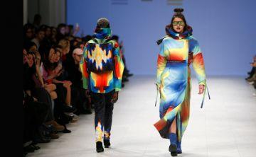 Excéntricos diseños en el Fashion Week de Ucrania