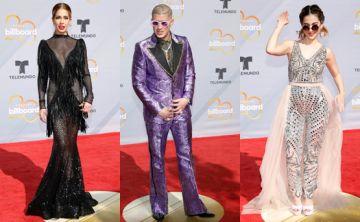 Los looks más llamativos de los Premios Billboards