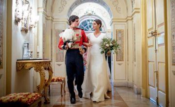 Se casan el duque de Huéscar y Sofía Palazuelo