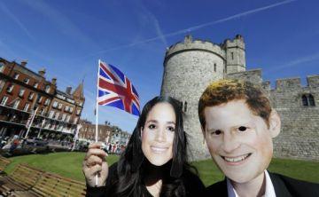 Celebran a Meghan y a Harry con originalidad