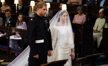 Primeras vistas desde la Capilla de San Jorge en la boda real