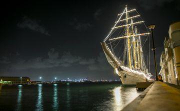 Cóctel de bienvenida del buque escuela Esmeralda