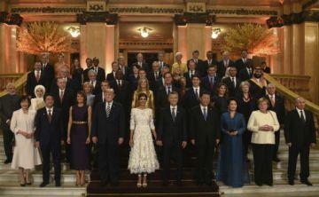 Las primeras damas muestran la otra cara de la cumbre G-20
