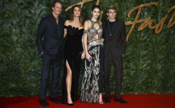 La alfombra roja de los British Fashion Awards