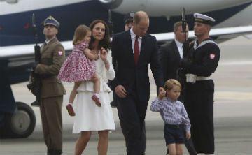 Primera visita oficial de los duques de Cambridge  a Polonia
