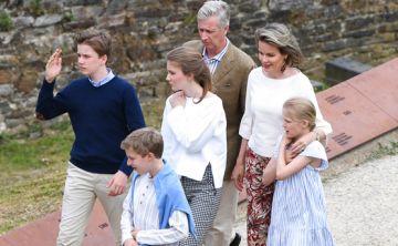 Así fueron las vacaciones de verano de la familia real de Bélgica