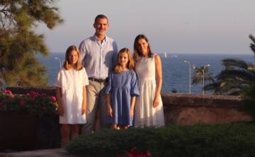 Los reyes de España inician sus vacaciones en Palma de Mallorca