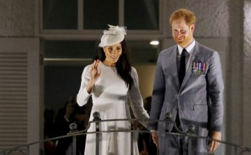 Meghan y Harry en Fiji