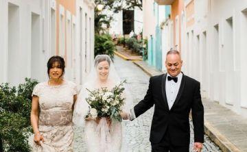 Una boda de ensueño en el Viejo San Juan