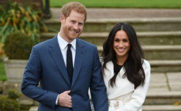 Primeras imágenes del príncipe Harry y Meghan Markle tras su compromiso