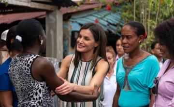 Los pasos de la reina Letizia por República Dominicana