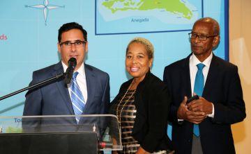 Premier de las Islas Vírgenes Británicas agradece ayuda luego del paso del huracán Irma