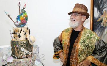 El artista Antonio Martorell llega  a la galería de Walter Otero