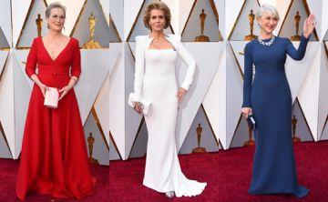 Los looks más elegantes de la alfombra roja de los Oscar